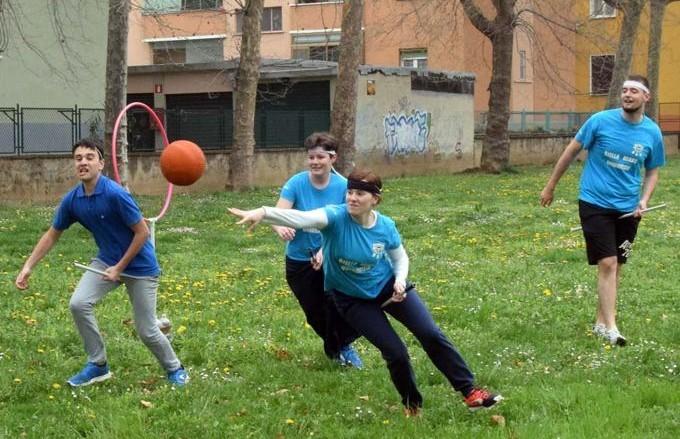 """Veronica Rosazza Prin gioca a quidditch per la Biella Bears Quidditch. Ecco l'articolo """"La classe non è...classe!"""""""