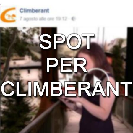Nuovo social, nuovo spot: Climberant!