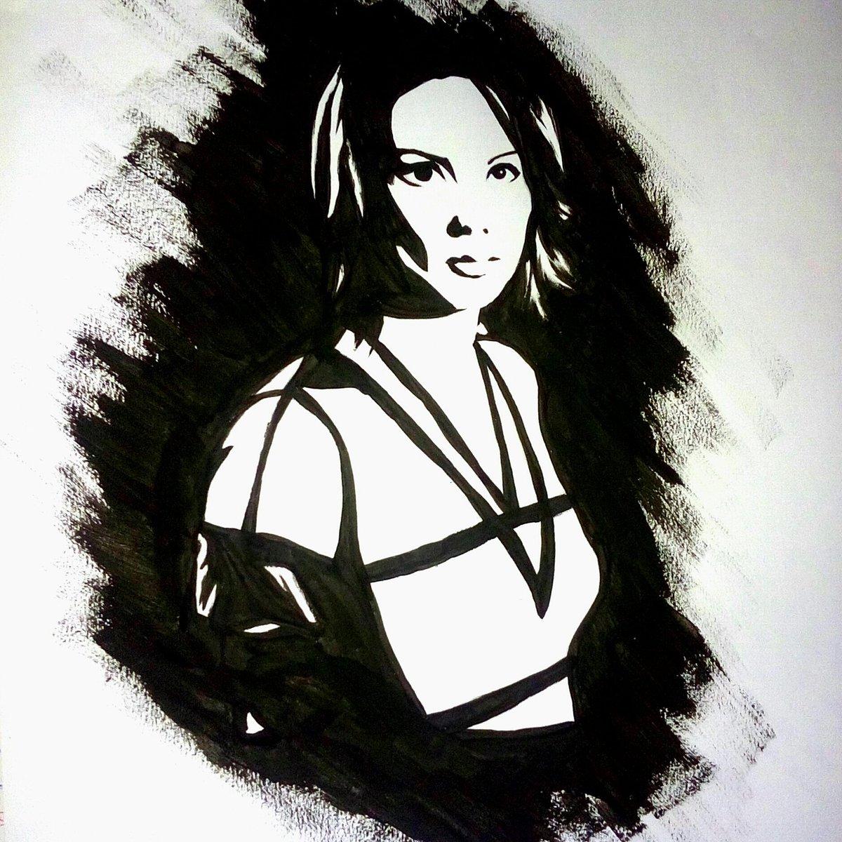 Veronica Rosazza Prin ha dipinto Lexa Doig nei panni di Rommie, in Gene roddenberry's Andromeda
