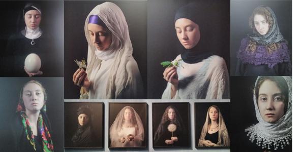 Le opere esposte alla mostra Re-velation di Carla Iacono