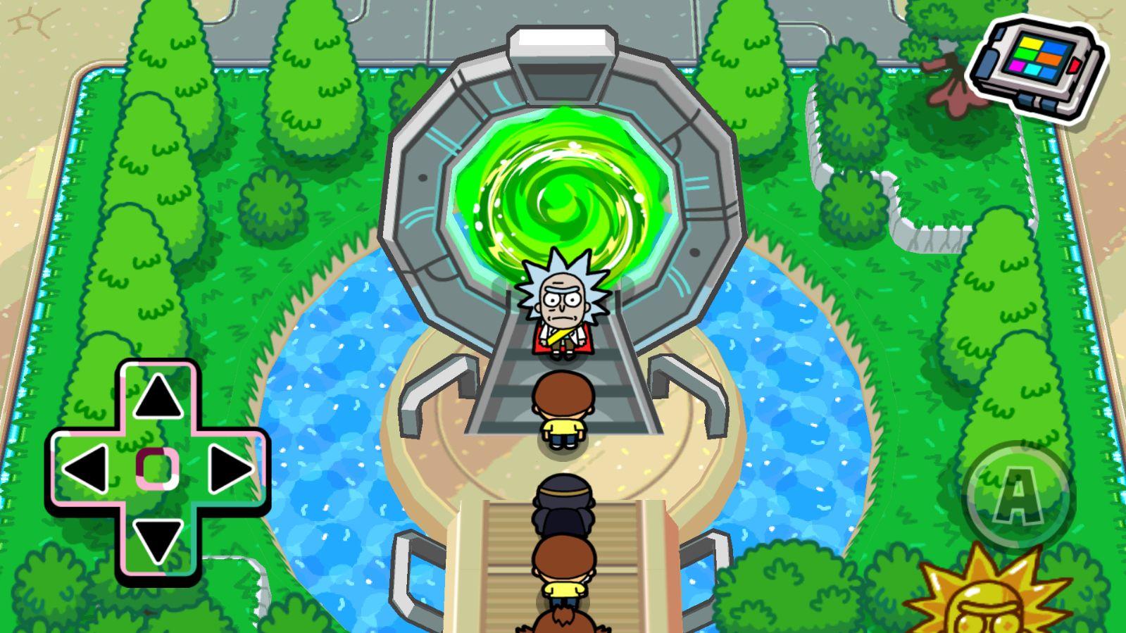 In Pocke Mortys, la sparaporta viene sequestrata a Rick nella Cittadella dei Rick