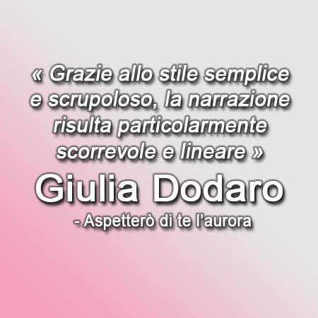 Land of Thankyous: Aspetterò di te l'aurora | Giulia Dodaro