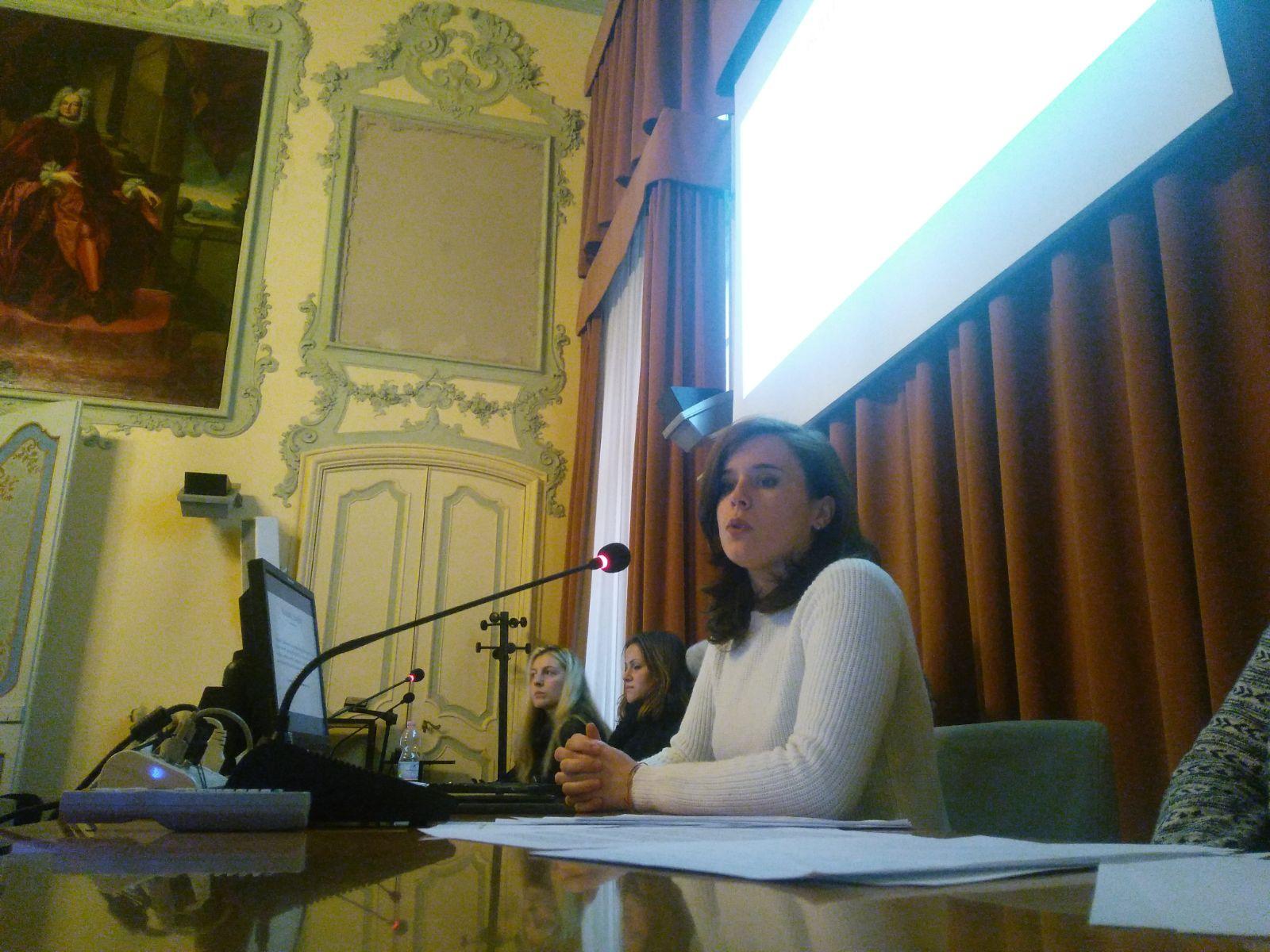Veronica Rosazza Prin alla Scuola di Scienze Umanistiche per parlare della Relazione Jo Cox
