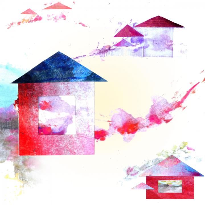 L'immagine simbolo del convegno di medicina narrativa Pensieri Circolari 2020, a opera di Maria Daniela Alastra e Veronica Rosazza Prin